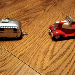 Hot rod and streamline trailer ornaments for Sale in Vista, CA