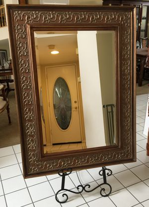 Gorgeous beveled big wall mirror for Sale in Whittier, CA