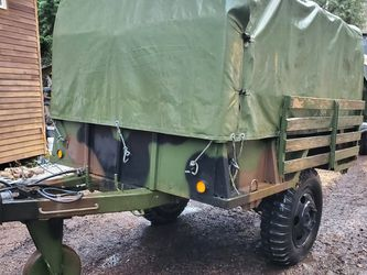 M105a2 Cargo Trailer With Rails And Top for Sale in Redmond,  WA