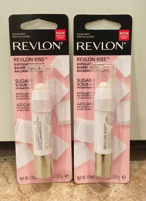 Revlon Kiss sugar scrub + hydration lip balm for Sale in Alexandria, VA