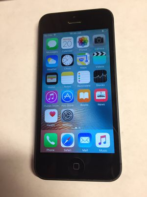 Unlocked Apple iPhone 5 for Sale in Rialto, CA
