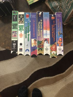 VINTAGE VHS ALL 5 for Sale in Montclair, CA