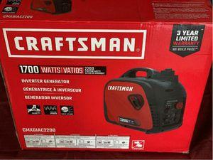 1700w Gas Inverter Generator CMXGIAC2200 2200 Starting Watts 80cc for Sale in Braintree, MA