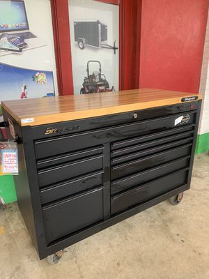 NEW MARKDOWN!!Snap-On Wooden Top, 11 Drawer Tool Box for Sale in Austin, TX
