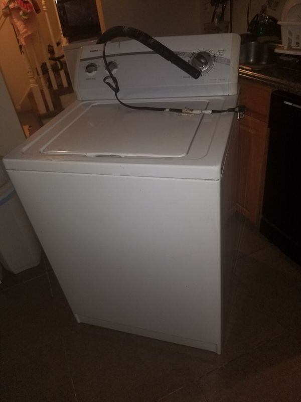Hello I am selling a Kenmore clothes washer in perfect condition no problem, Only interested, please