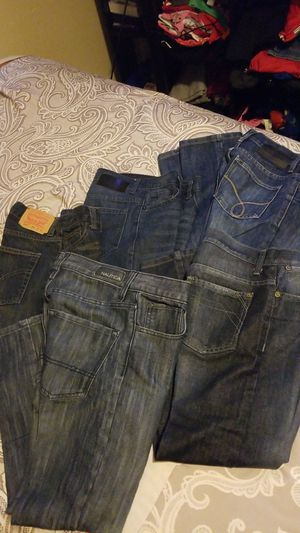 Selling levis, nautica, Calvin Klein size 10 kids jeans. Like new! Used twice the most. My lost you gain for Sale in Austin, TX