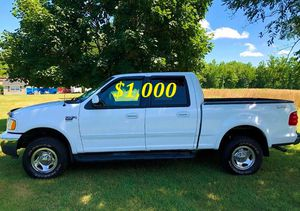 🍏🟢💲1,OOO For sale URGENTLY this Beautiful💚2002 Ford F150 nice Family truck XLT Super Crew Cab 4-Door Runs and drives very smooth V8🟢🍏 for Sale in New Haven, CT