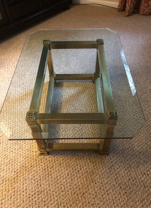 Solid brass coffee table for Sale in Colonial Heights, VA