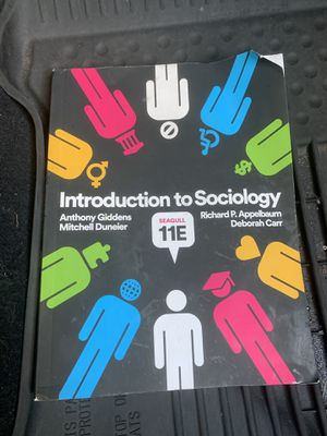 Sociology 101 textbook for Sale in Downey, CA