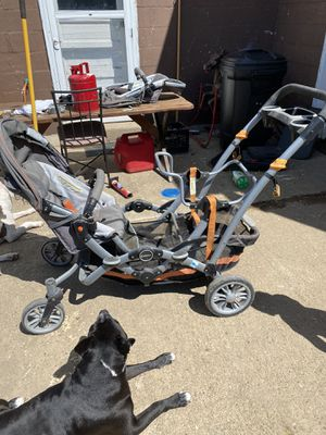 Contour Double stroller for Sale in New Kensington, PA