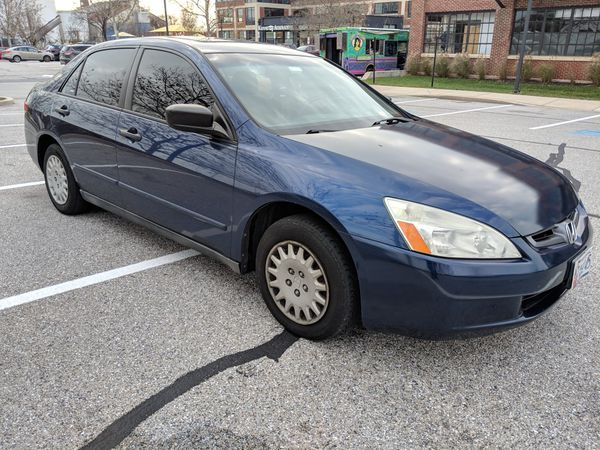 2004 Honda Accord tinted with remote start