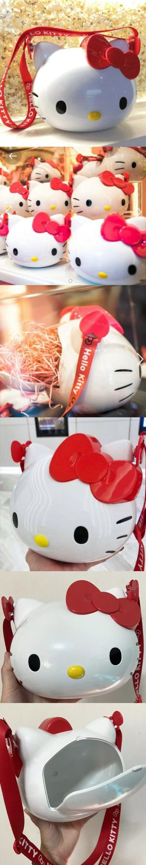 """¤RARE¤ BRAND NEW Hello Kitty """"Popcorn Bucket"""" Purse Bag strap ¤IMPORTED¤ for Sale in City of Industry, CA"""