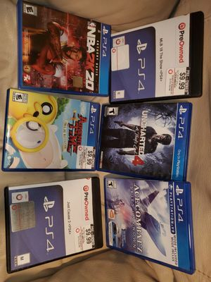 6 PS4 games for Sale in Houston, TX