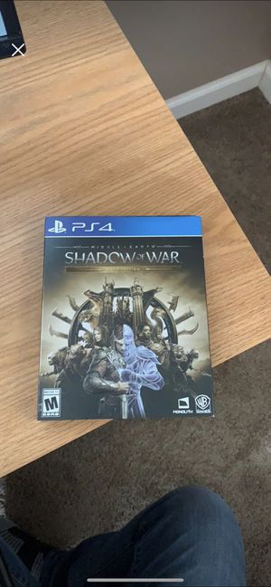 Shadow of War Gold Edition for Sale in Kingsport, TN
