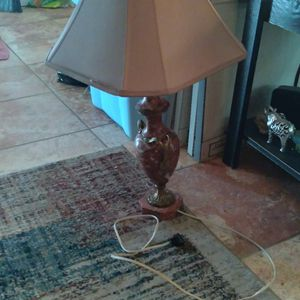 Vintage Marble Lamp for Sale in Fair Oaks, CA