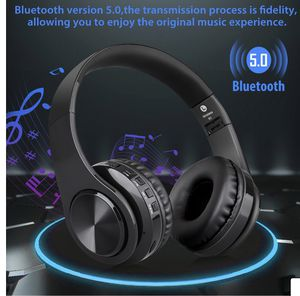 Headphone wireless Bluetooth, microphone, noise cancellation, led light, foldable for Sale in Downey, CA