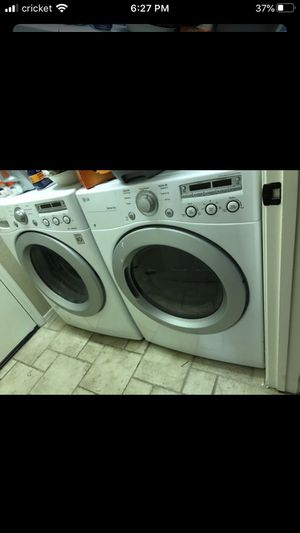 LG dryer and washer ( good conditions and working perfectly) for Sale in Phoenix, AZ