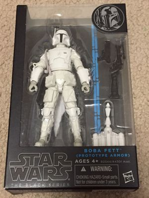 Star Wars Black Series Boba Fett Prototype Armor Action Figure New Sealed MOC for Sale in Lakewood, CA