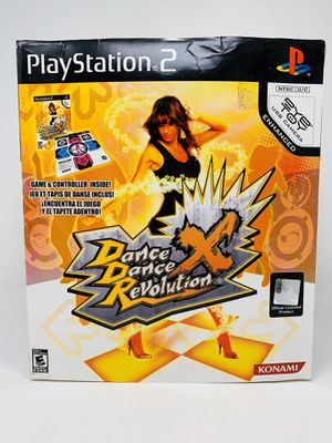 Play Station 2 - Dance Dance Revolution X Dance Mat- PS2 for Sale in El Monte, CA
