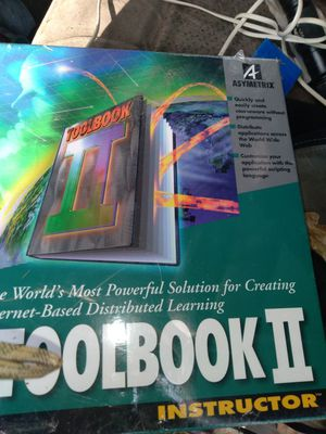 Toolbook II make course work online ez new unopened for Sale in Kennedale, TX