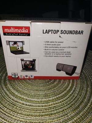 Laptop soundbar for Sale in Las Vegas, NV