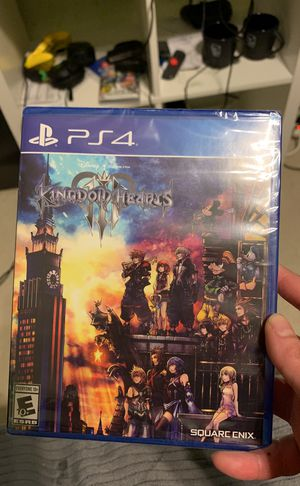 Brand new kingdom hearts 3 on ps4. Never opened for Sale in Lawrenceville, GA