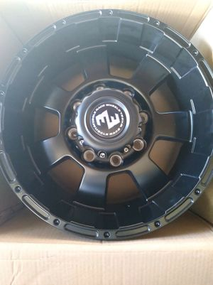 4 17x9 brand new wheels. Bolt pattern 8x165 for Sale in San Diego, CA
