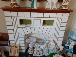 Vintage faux fireplace for Sale in West Seneca, NY