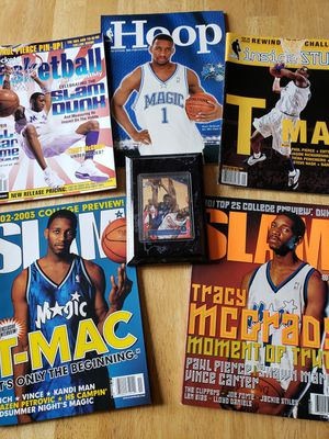 Tracy McGrady Orlando Magic NBA basketball memorabilia for Sale in Gresham, OR