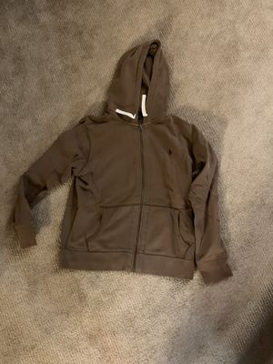 Brown Polo Zip Up Hoodie for Sale in Chevy Chase, MD