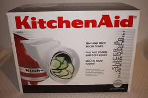 Kitchen Aid Slicer & Shredder Stand Mixer Attachment for Sale in Ames, IA