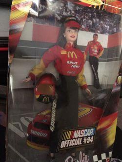 NASCAR Barbie in box. 20.00 for Sale in Central Falls,  RI