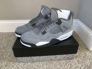 Men's Cool Grey Retro 4 Jordans for Sale in Riverside, CA