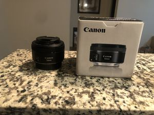 Canon EF 50mm f 1.8 stm for Sale in Smyrna, TN