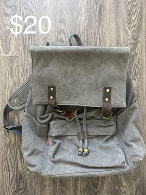 Crest Design canvas backpack for Sale in Austin, TX