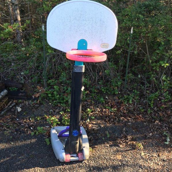 Child's Basketball Hoop