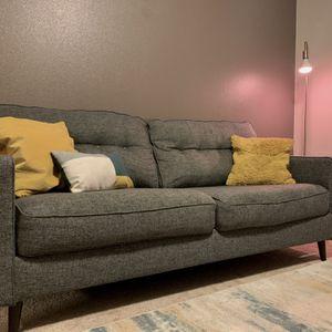 Modern grey sofa for Sale in Beaverton, OR