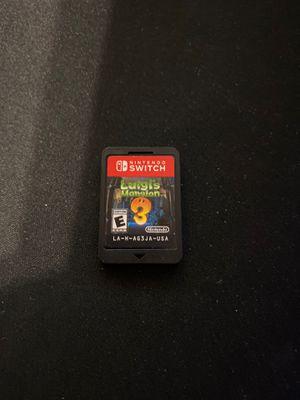 Luigi's Mansion 3 Nintendo Switch for Sale in Avondale, AZ