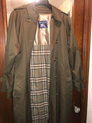 Burberry Coat for Sale in Pittsburgh, PA