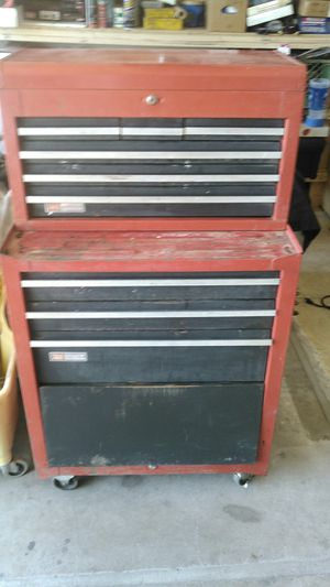 Older craftsman tool box for Sale in Peoria, AZ