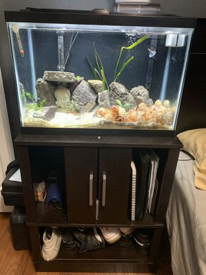20 tall gallon fish tank for Sale in Gaithersburg, MD