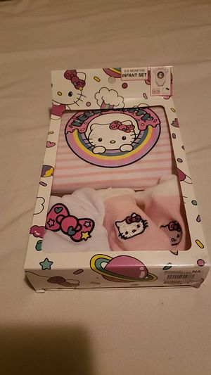 Hello Kitty infant baby set for Sale in Los Angeles, CA
