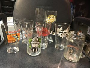 Brewing company beer collection of glasses for Sale in Bucyrus, OH