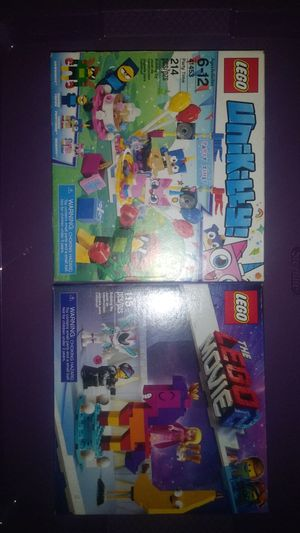 """2 NEW boxes of Legos! Lego """"party time"""" & a Lego movie 2 set for Sale in Virginia Beach, VA"""