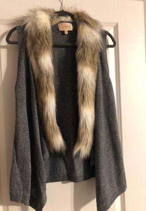 Faux fur fall vest for Sale in Decatur, GA