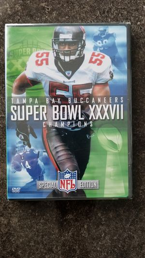 2003 Super Bowl XXXVII Tampa Bay Buccaneers vs. Oakland Raiders DVD for Sale in Wesley Chapel, FL