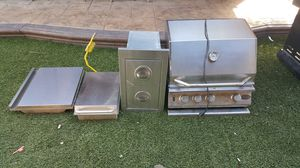 BBQ 24 inch Grill Combo for Sale in Riverside, CA