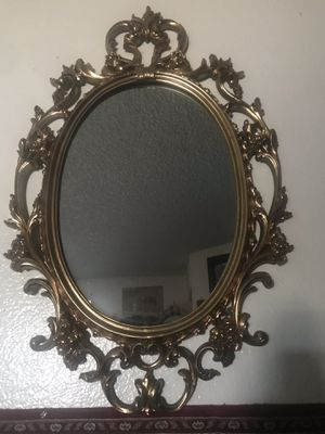 Mirror and candle holder for Sale in Santa Ana, CA