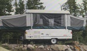 2001 Coleman Fleetwood model Pop-up Camper for Sale in Bremerton, WA