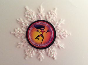 Disney Incredibles Violet Ornament for Sale in Rochester, NY